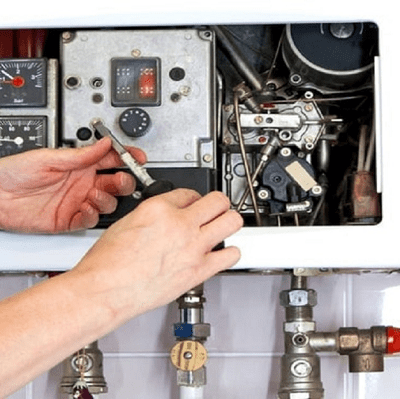 regolazione pressione caldaia